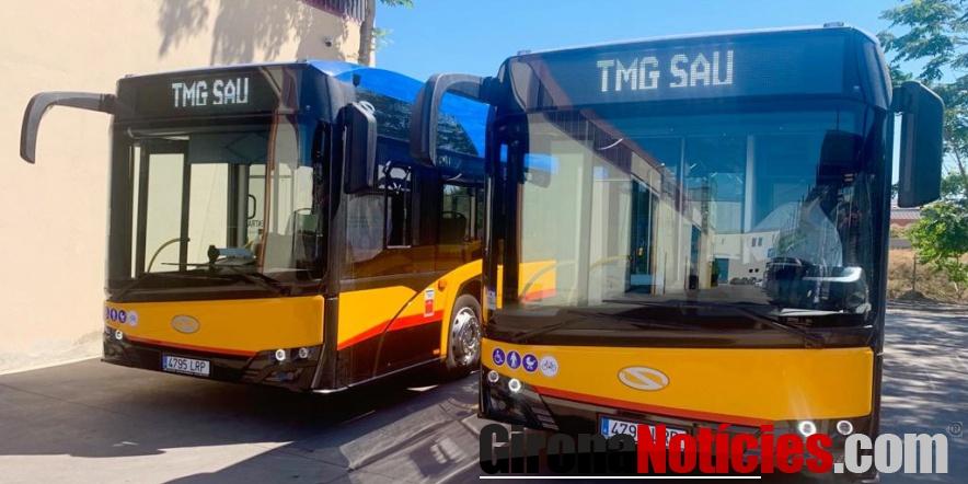 Incorporació dos nous autobusos