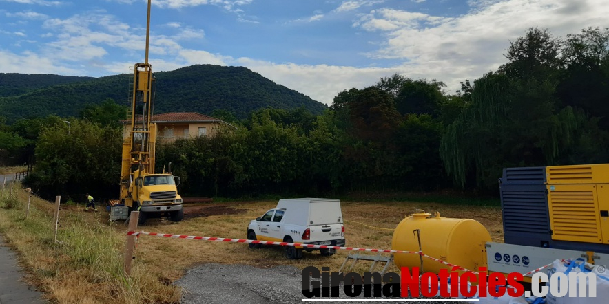 Obres nou pou a la zona de Perecaula