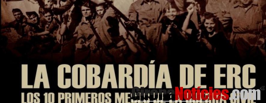 alt - Alcalá repasa los diez primeros meses de la guerra civil en 'La cobardía de ERC'