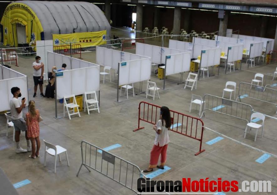 Vacunació al Palau Firal Girona