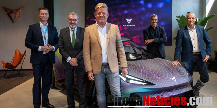 New CUPRA City Garage in Munich