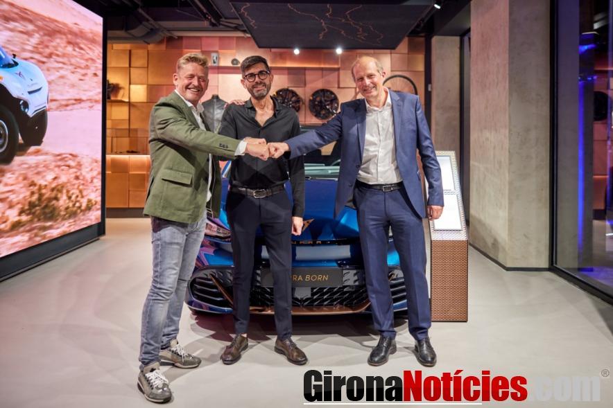 Pre-inauguración del CUPRA Garage Milano