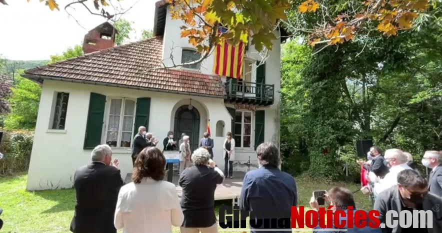 Medalla Carrasco i Formiguera a la Casa Macià / GN