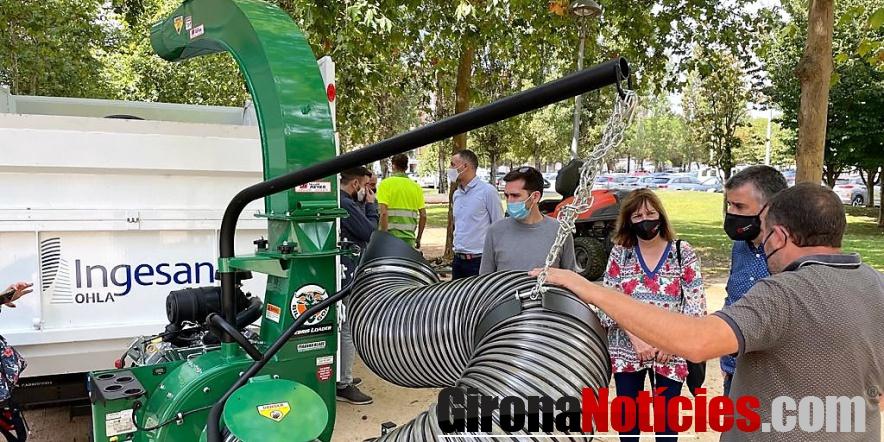 Nova maquinària brigada jardineria