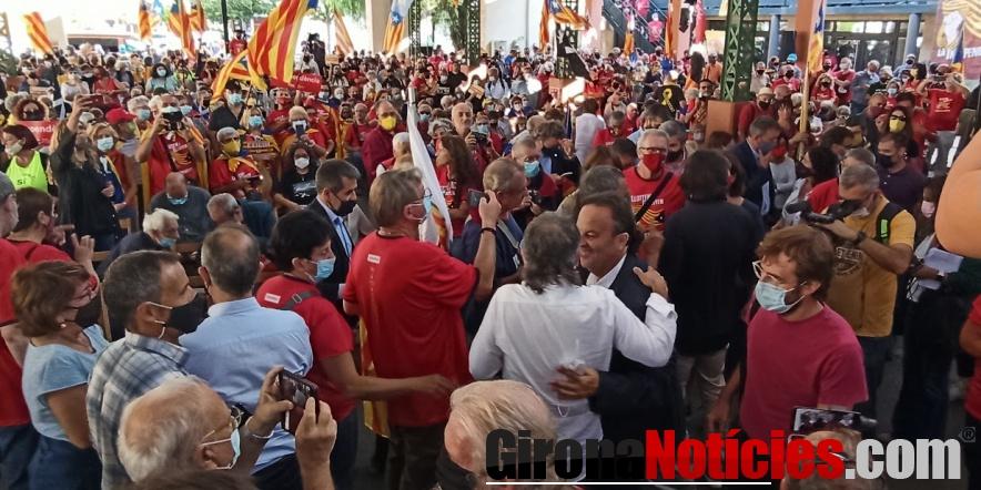 Commemoració de l'1 d'octubre a Illa a la Catalunya del Nord / GN
