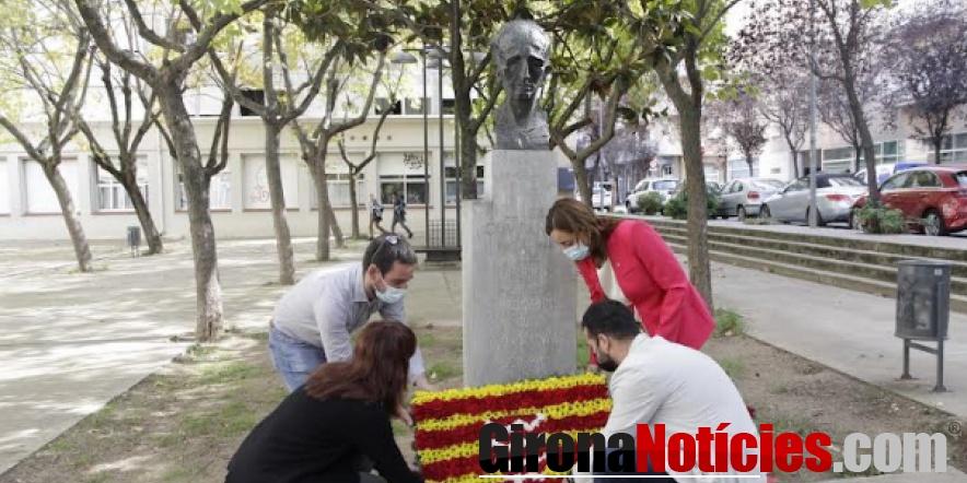 Homenatge Lluís Companys a Girona