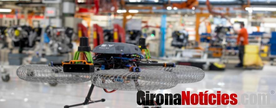 alt - Drones en la fábrica del futuro