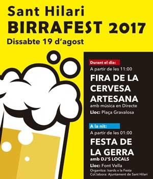Festa cervesa Sant Hilari 19 d'agost
